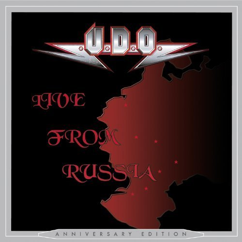 Live From Russia - Anniversary Edition by U.d.o. (2013) Audio CD