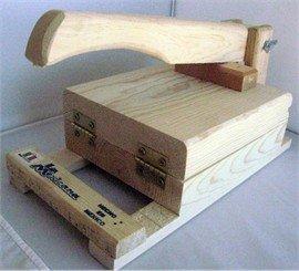 Amazon.com: Tortilla Press Pine Wood Tortilladora Madera Pino By La