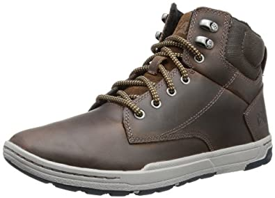 "Amazon.com: Caterpillar Colfax Mid 5"" Mens Ankle Boots: Shoes"