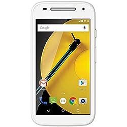 Motorola Moto E 2a Generazione Smartphone, LTE, 8 GB, RAM 1 GB, Bianco [Italia]
