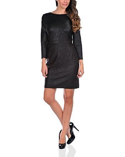 Rendez-vous à Paris Vestido Eliane Negro
