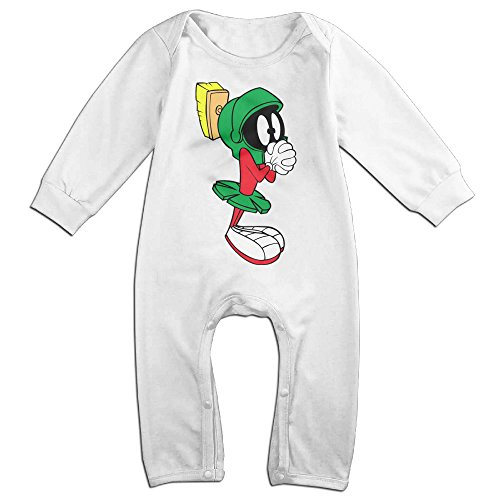 [OLGB Babys Marvin The Martian Long Sleeve Bodysuit Outfits 24 Months] (Baby Golfer Costume)