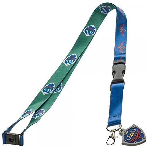 The Legend Of Zelda Skyward Sword Lanyard with Shield Charm