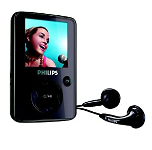 Philips SA 3045  MP3-/Video-Player 4 GB (Radio, USB 2.0) schwarz