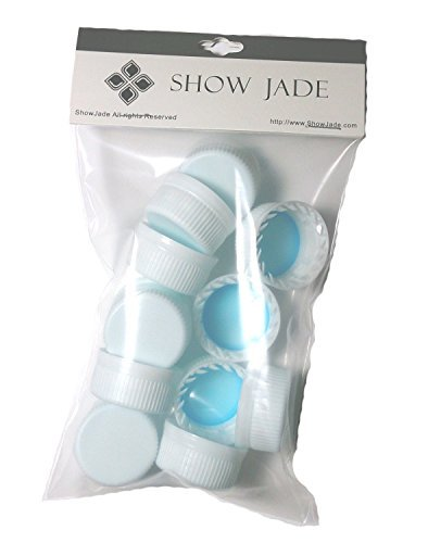 showjadear-aquafina-20oz-reseal-caps-reseal-your-water-bottle-perfectly-12-pc-by-showjade