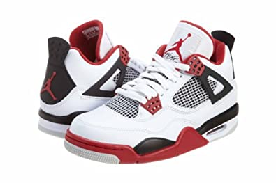 AIR JORDAN 4 RETRO FIRE RED WHITE/FIRE RED 308497-110