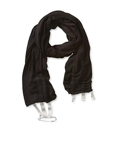 adidas Y-3 by Yohji Yamamoto Women's Knit Scarf, Black/Running White