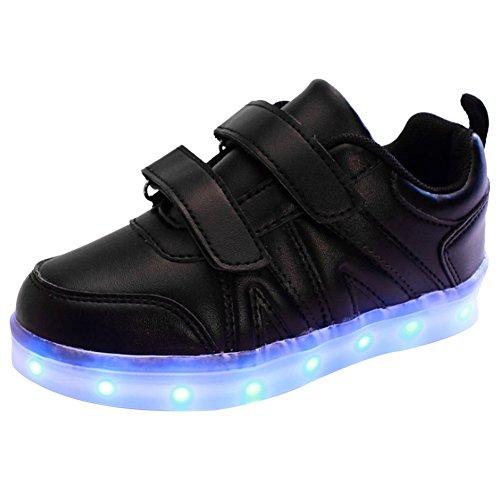 Hightech-2016-Nuevos-nias-Zapatillas-del-LED-de-la-lmpara-de-ocio-Zapatos-de-la-Moda-para-Muchaschos