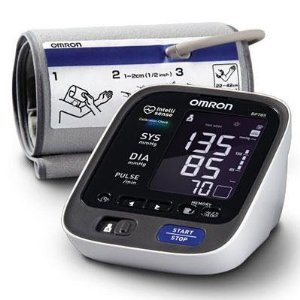 Image of Omron BP785 10 Series Upper Arm Blood Pressure Monitor, Black/white & FREE MINI TOOL BOX (ml) (B0087FJNW6)
