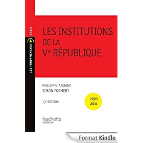 Les Institutions de la Ve R�publique 2010/2011