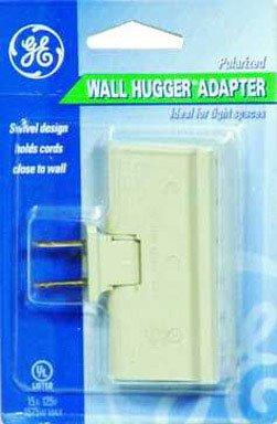 General Electric Wall Hugger Swivel 1-3 Adapter 15A 125V