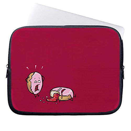 hugpillows-laptop-sleeve-bag-funny-donuts-on-red-notebook-sleeve-cases-with-zipper-for-macbook-air-1