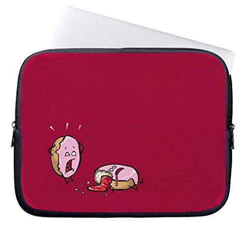 chadme-funda-para-portatiles-bolsa-funny-donuts-en-rojo-funda-para-portatil-casos-con-cremallera-par