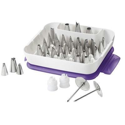 Wilton 2104-0240 Master Decorating Tip Set (2, 55-piece)