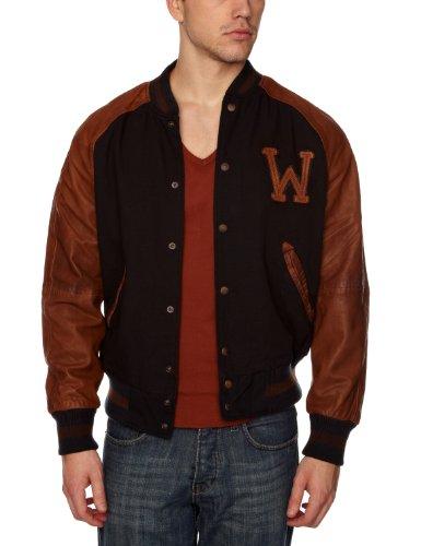 Wrangler Baseball J Men's Jacket Navy XX-Large