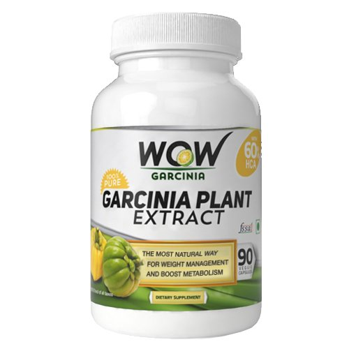 60-HCA-Super-Strength-WOW-Garcinia-Cambogia-With-90-Fast-Acting-Veg-Capsules-All-Natural-Appetite-Suppressant-and-Weight-Loss-Supplement-Number-1-Weight-Loss-Product-in-India