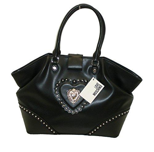 Borsa Love Moschino JC4154 woman handbag shopping CALF PU NERO
