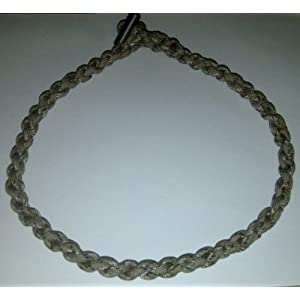 Desert Camo Paracord Survival Necklace With Firesteel