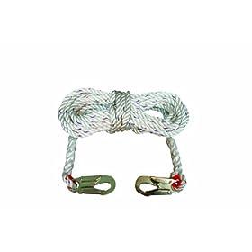 Elk+River Elk River 49813 Polyester/Polypropylene Construction Plus Lifeline Rope with Snaphook, 5/8