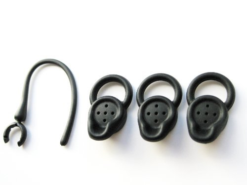 3 Small Black Stabilizer Earbuds For Jawbone Era