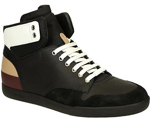 Sneakers alte Dior uomo in pelle nero - Codice modello: 3SH057WXO 960 - Taglia: 41 EU