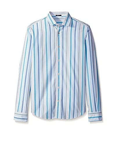 Ermenegildo Zegna Men's Stripe Shirt