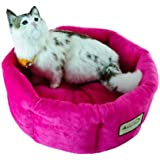 Armarkat C03CZH Cozy Pet Bed 15-Inch Diameter, Pink