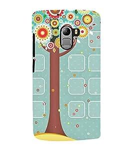Designed tree Back Case Cover for Lenovo K4 note