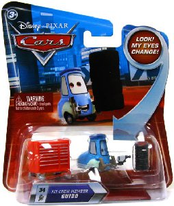 Cars Lenticular Eyes Pit Crew Member Guido - Series 2: Toys & Games