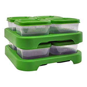green sprouts Polypropylene Freezer Cubes, Green