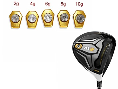 Casar Golf A Whole Set (2g,4g,6g,8g,10g) Golf M2 Driver Weight Screw Replacement For Taylormade M2 Driver (Taylor Made Driver Set compare prices)