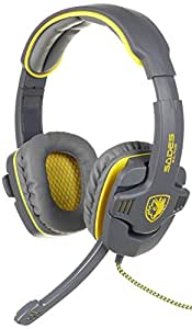 New Arrival SADES SA-708 Zombie Version Stereo Headphone Computer Gaming Headset Microphone