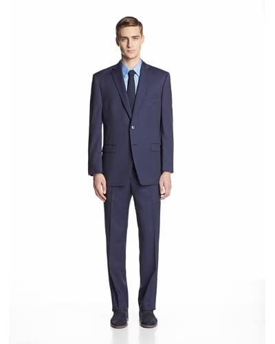Calvin Klein Men's Malik Striped Two Button Suit