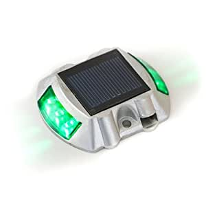 Green solar lights