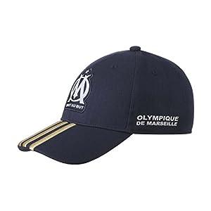Adidas - Fußball-Basecap - Olympique de Marseille - Einheitsgröße - Dunkelblau