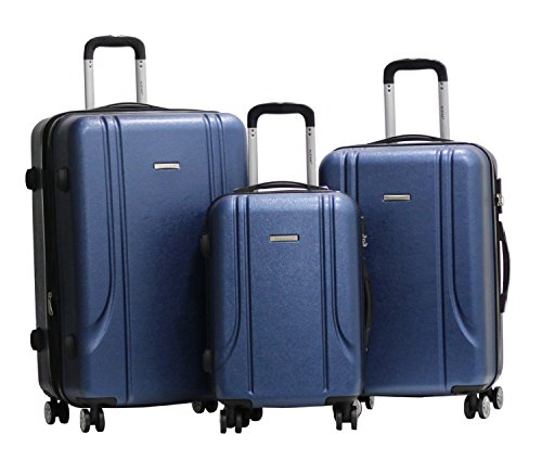 Set-di-3-Valigie-Valigia-ALISTAIR-Smart-ABS-Ultra-Light-4-ruote-Blu