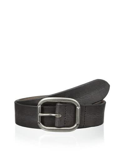 John Varvatos Men's Washed Leather Belt