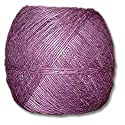 Purple Polished 20# Hemp Twine 100g Ball