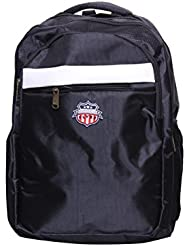 American Flyer Nylon Black School Backpack