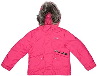 O'Neill Gemstone Girls Jacket Beetroot Pink 8 years