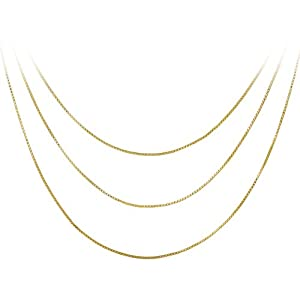 18k Yellow Gold Plated Sterling Silver 18