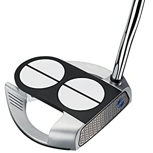 Odyssey Golf Men's Lined Versa with Superstroke Grip Works 2-Ball Fang Putter