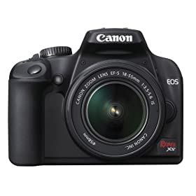Canon Rebel XS 10.1MP Digital SLR Camera with EF-S 18-55mm f/3.5-5.6 IS Lens
