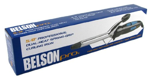 Belson Curl Iron Pro 5/8″ (3-Pack) with Free Nail File