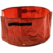 Red Balcony Vegetable Planting Bag Garden Bags With Handle