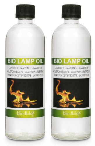 2 Bottles, Danish Clean Green Oil with Natural Citronella for Lamp Candle Light Lantern BBQ Torch Fireplace, Vegetable Oil Not Petroleum, 750ml, 2-count Blindkilde B00AHHOVO2