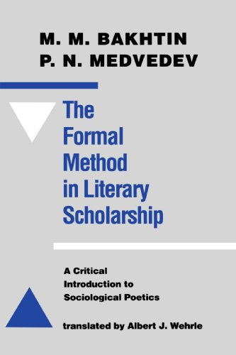 The Formal Method in Literary Scholarship: A Critical...