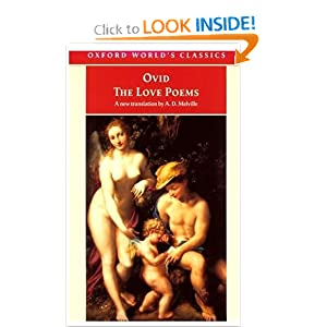 The Love Poems  by Ovid
