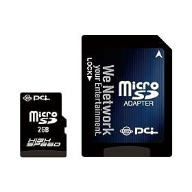 PLANEX ハイスピード80倍速microSDカード2GB (SDアダプタ&トリスター携帯万能Lite/抹消プロダウンロード付) PL-MicroSD2G