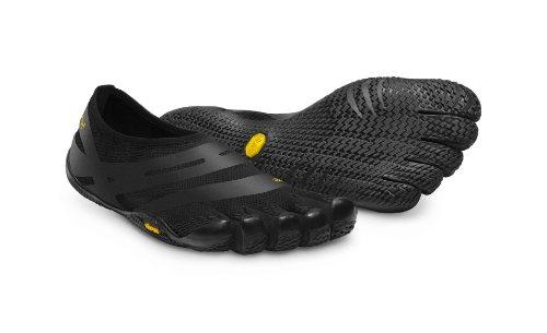 Vibram Five Fingers - Escarpines casual para hombre, color negro, talla 41